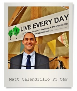 Matt Calendrillo - LIVE EVERY DAY Physical Therapist SImsbury CT